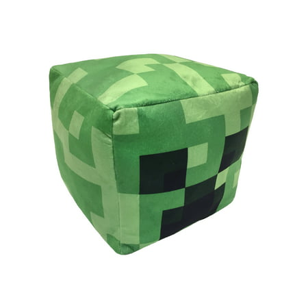 Minecraft Creeper Cube Pillow, 1 Each - Minecraft Reg