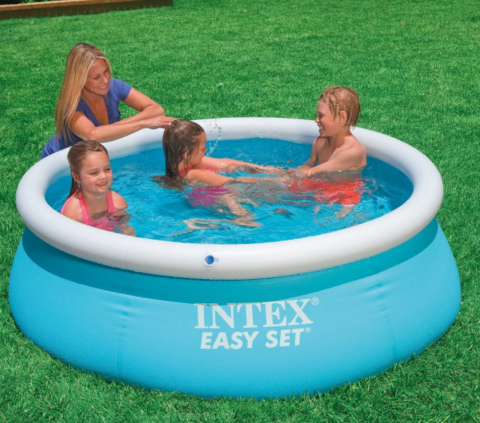 Intex 6ft x 20in Easy Set Inflatable Swimming Pool and Filter Pump (2 Pack)  - Walmart.com