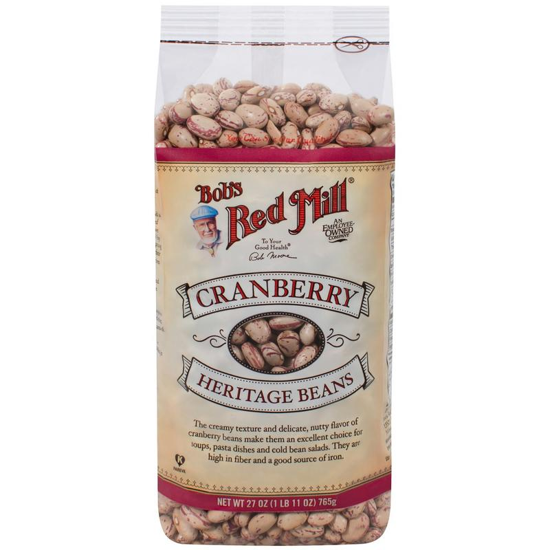 Bob's Red Mill Cranberry Beans 27 oz (4 count)