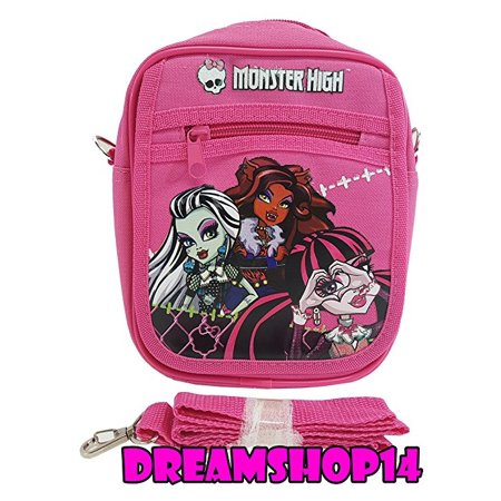Pink Monster High Cross Purse Bag - Monster Handbag