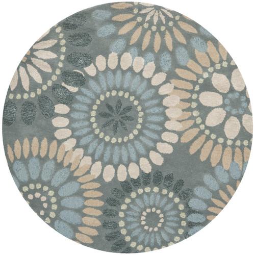Safavieh Jardin Grey & Blue Floral Area Rug