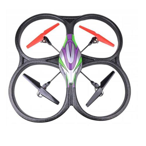 2.4Ghz 4ch V262 Big Size RC Quadcopter Drone with Gyro Radio Control UFO Flying Helicopter V262 -Red