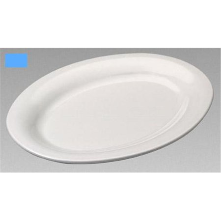 - Gessner Products IW-0335-BERRY Oval Platter, 9.5 in. x 7.25 in.- Case of 12