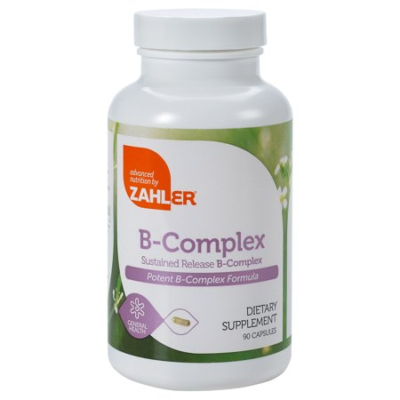 B Complex, All Natural Supplement Supporting Energy Production, 1 Pure and Potent B Complex Formula Containing all 8 Essential B Vitamins, Certified Kosher, 90