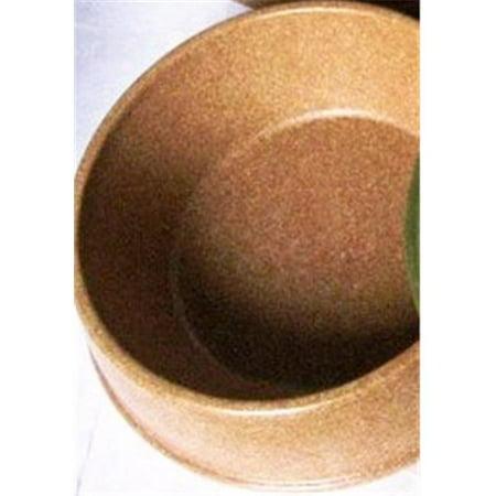 Green Pet Shop 48400 Bamboo Bowl L Brown