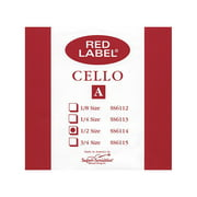 Super Sensitive Red Label Cello A String 1/2
