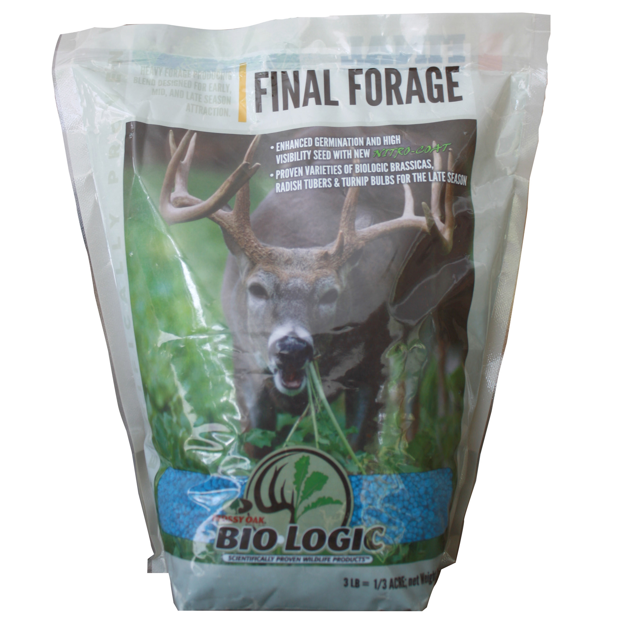 Mossy Oak BioLogic Final Forage Late Season Deer Food Plot Seed