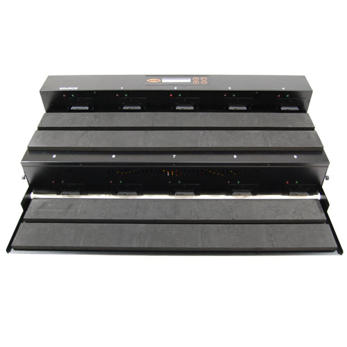 SySTOR 1:9 SATA Hard Disk Drive / Solid State Drive (HDD/SSD) Flatbed Duplicator/Sanitizer - High Speed (150MB/sec)