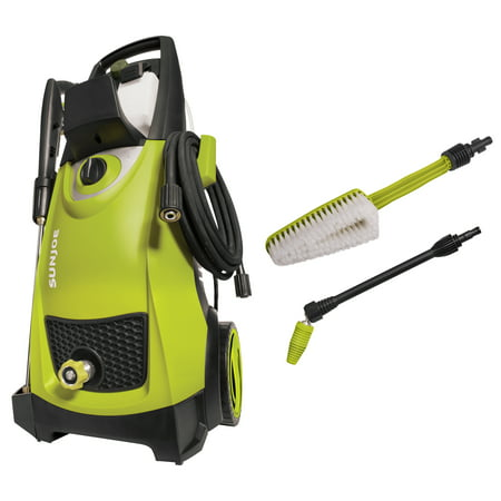 Sun Joe SPX3000 Electric Pressure Washer w/ Accessory Bundle 2030 PSI 1.76 GPM 14.5-Amp
