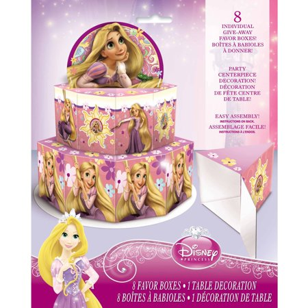 Disney Tangled Favor Box Centerpiece Decoration for 8 (Disney Wedding Decorations)