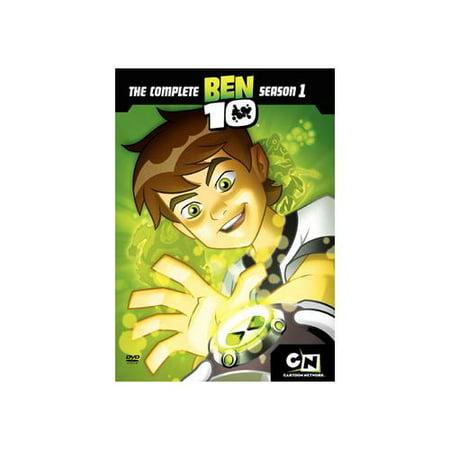 BEN 10-SEASON 1 (DVD/2 DISC/P/ENG-FR-SP SUB/COLLECTOR POSTER)