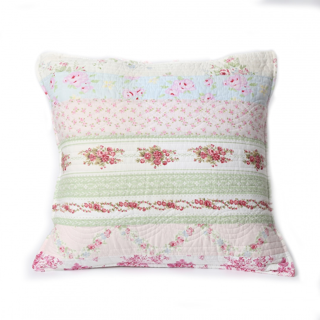 Cozy Line Home Fashions Inc Wild Rose Enchantment 20 Inch Throw Pillow Walmart Com Walmart Com