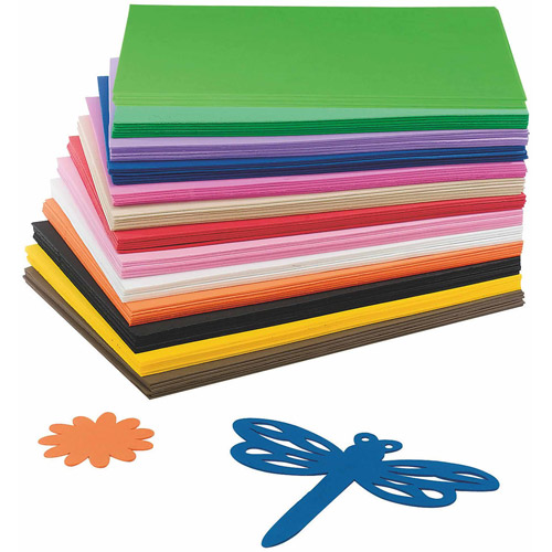 EVA Foam Sheet Assortment, Pack of 78