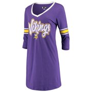 Minnesota Vikings New Era Women's Athletic V-Neck Dress - Purple