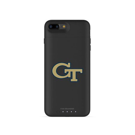 Mophie IPH-87P-BK-JPA-GT-D101 Black Juice Pack Air Case with Georgia Tech Yellow Jackets Primary Mark Design for iPhone 8 Plus & iPhone 7 Plus - image 1 of 1