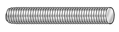ZORO SELECT 53440 6 U-Bolt,Square,Low Steel,3//8-16