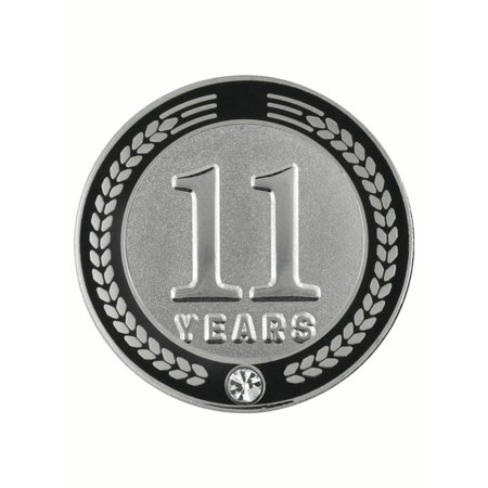 Recognition Gifts (PinMart's 11 Years of Service Award Employee Recognition Gift Lapel Pin -)