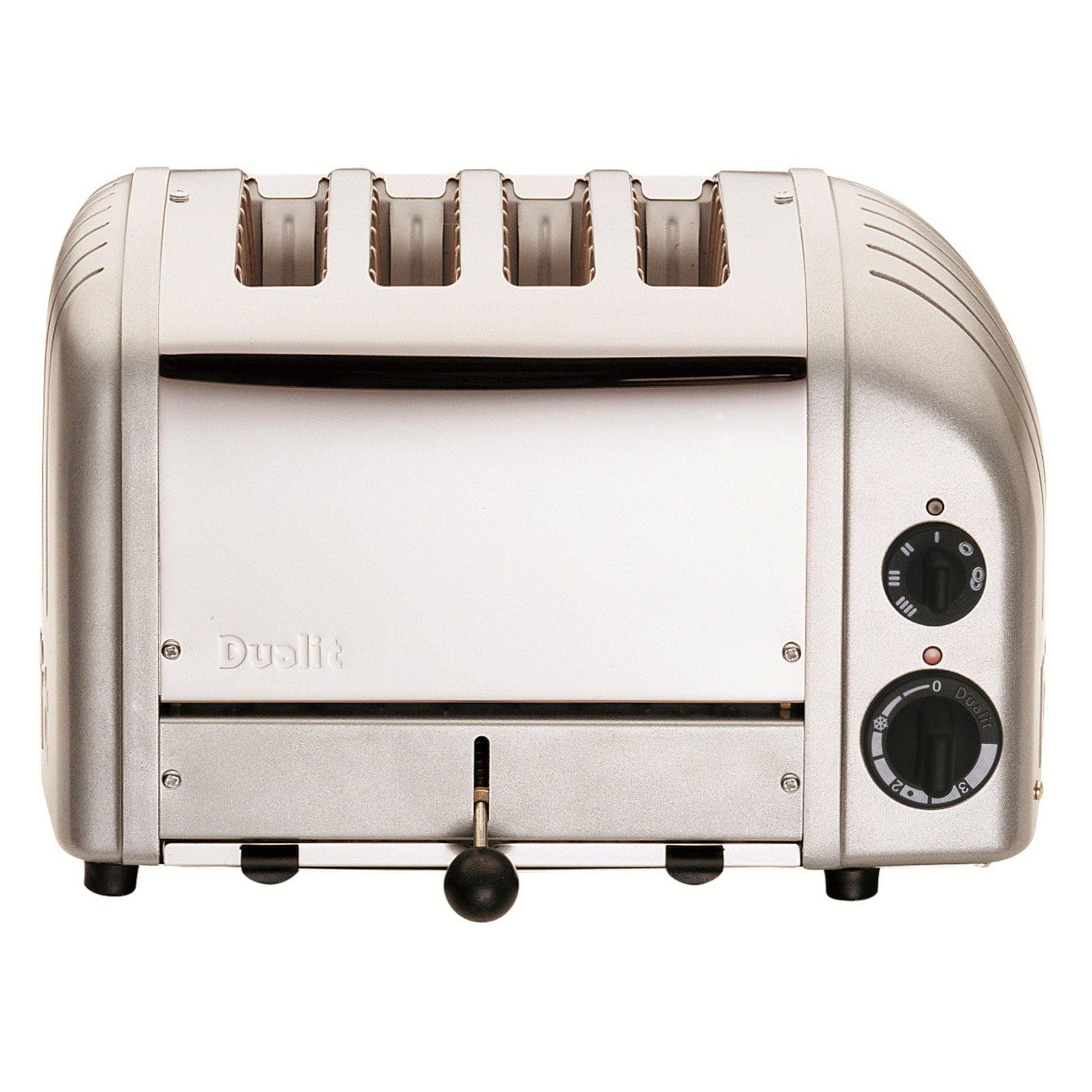 Dualit 47162 4 Slice NewGen Toaster - Metallic Silver