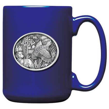 Bobwhite Quail Coffee Mug, Cobalt (Cobalt Coffee Mug)