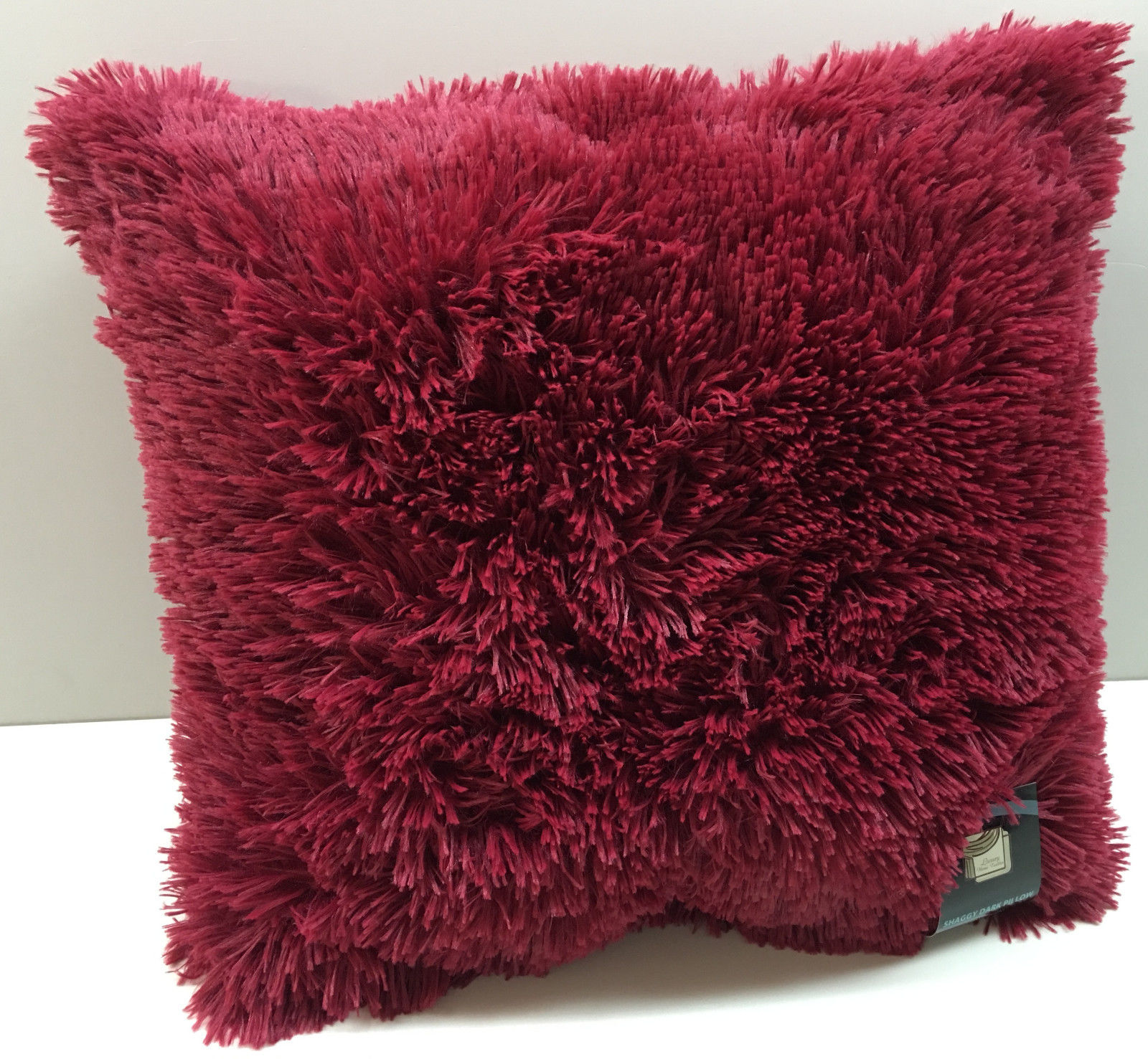 Large Gy Fur Toss Throw Pillows