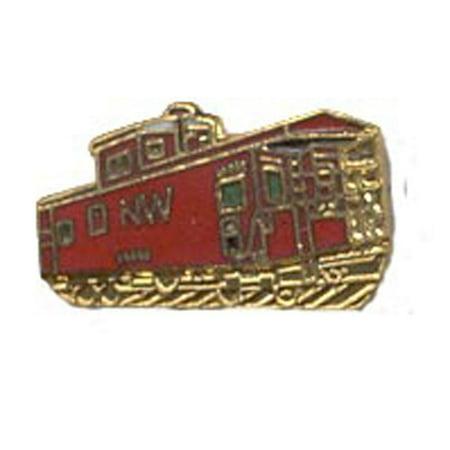 """N & W Caboose Railroad Pin 1"""""""