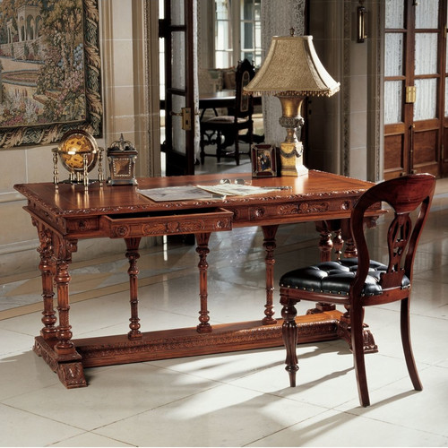 Design Toscano Chateau Chambord Large Console Table