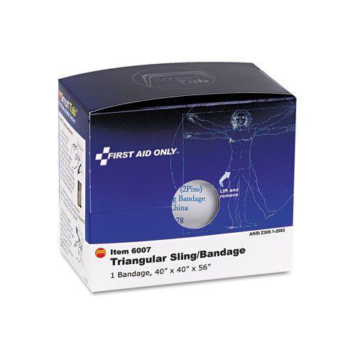 """Triangular Sling/Bandage, 40"""" x 40"""" x 56"""", 2 Safety Pins/1 Bandage/Box"""
