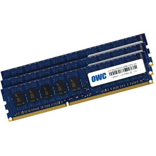 OWC / Other World Computing 24GB (3x 8GB) Matched Pair 1333MHz 240-Pin SDRAM DIMM DDR3 (PC10600) Memory Upgrade Kit for PC Desktops, Mac Pro 'Nehalem'