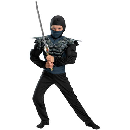 Night Camo Ninja Child Halloween Costume for $<!---->