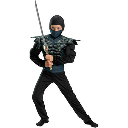 Night Camo Ninja Child Halloween Costume