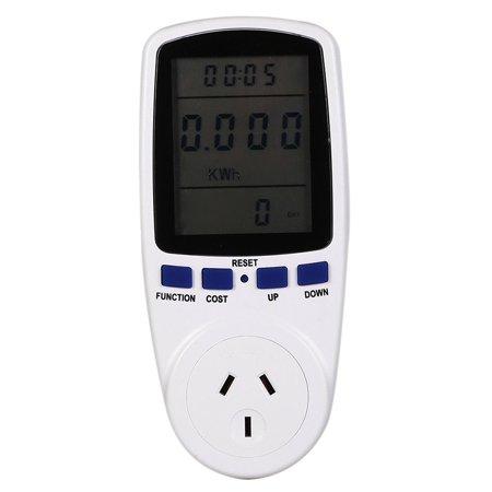 Digital LCD Power Meter Measuring Outlet Socket Watt Voltage Current Analyzer