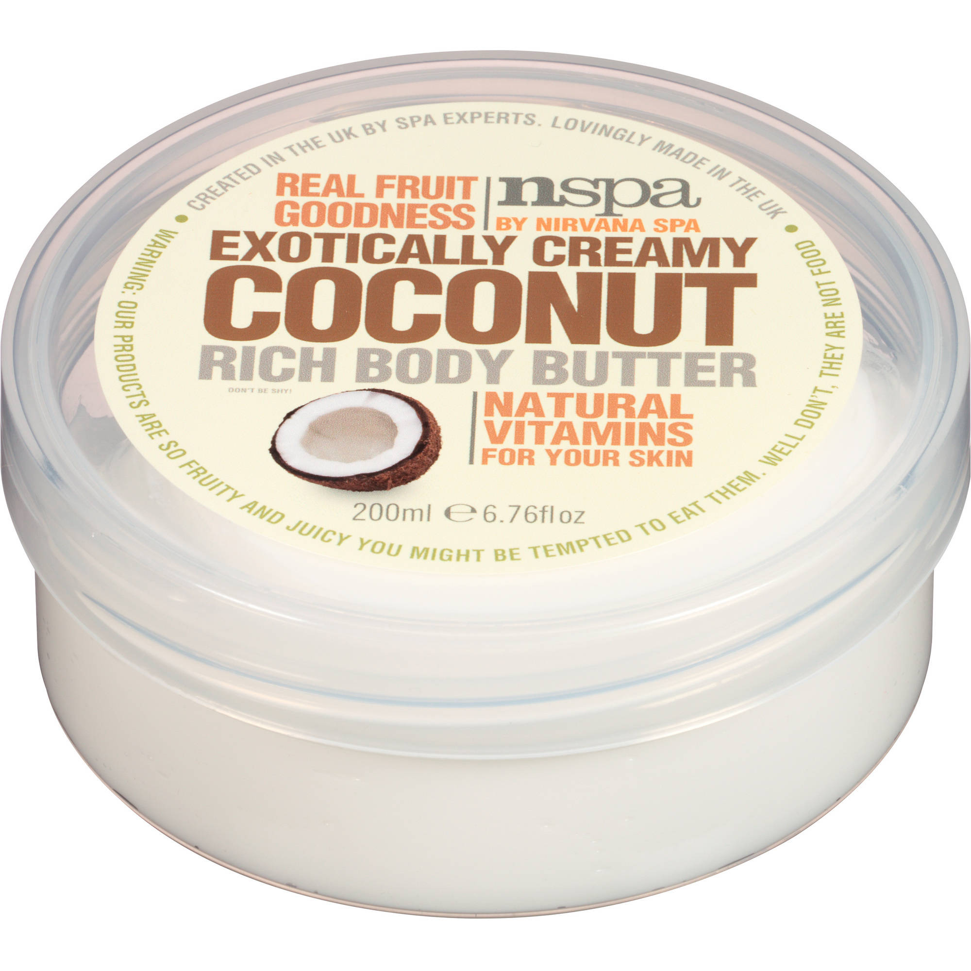 NSPA Exotically Creamy Coconut Rich Body Butter, 6.76 fl oz
