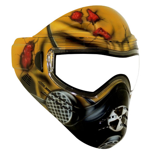 Save Phace Tagged Series Limited Edition Tactical Paintball Mask - Mutant
