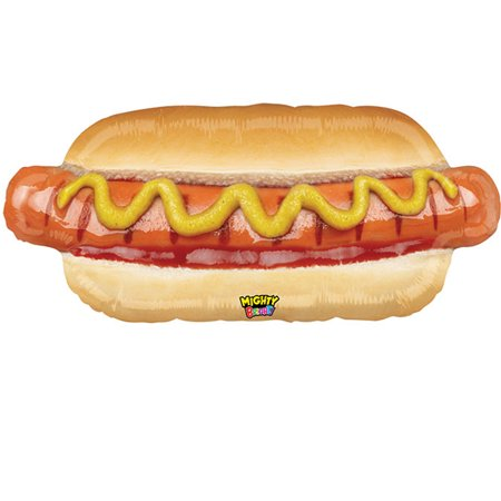 Hotdog Foil Balloon 34