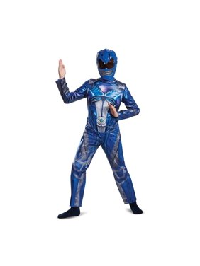 Boys Blue Power Ranger Movie Costume