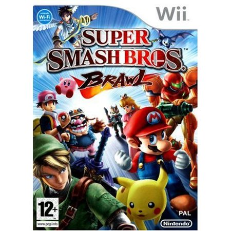 Refurbished Super Smash Bros Brawl For Wii