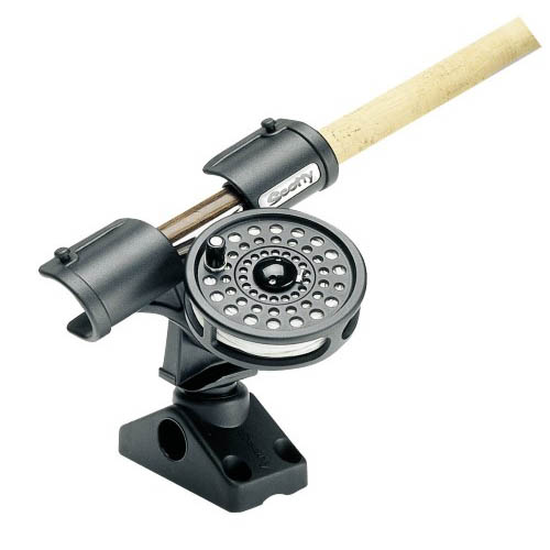 Scotty Fly Rod Holder w/ 241 Side/Deck Mount