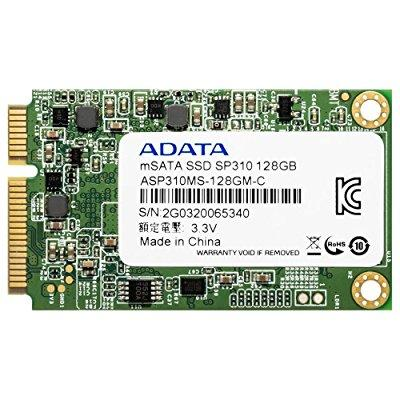Image of adata premier pro sp310 128gb sata 6gb/s msata excellent read up to 540mb/s solid state drive (asp310s3-128gm-c)