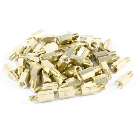 PCB Motherboard Standoff Hex Spacer Screw Nut M4 Female 9mm to Male 6mm 50 Pcs - image 1 de 1