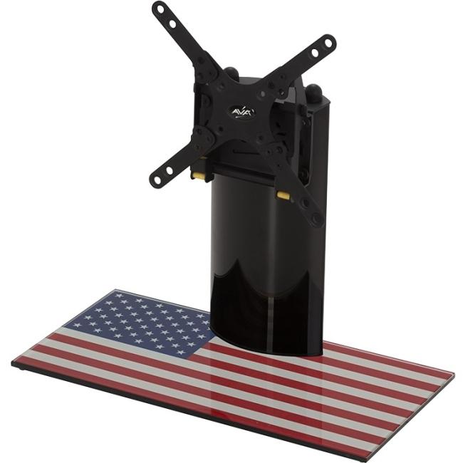 "AVF Universal TV USA Flag Base Flat, Up to 32"" TV"