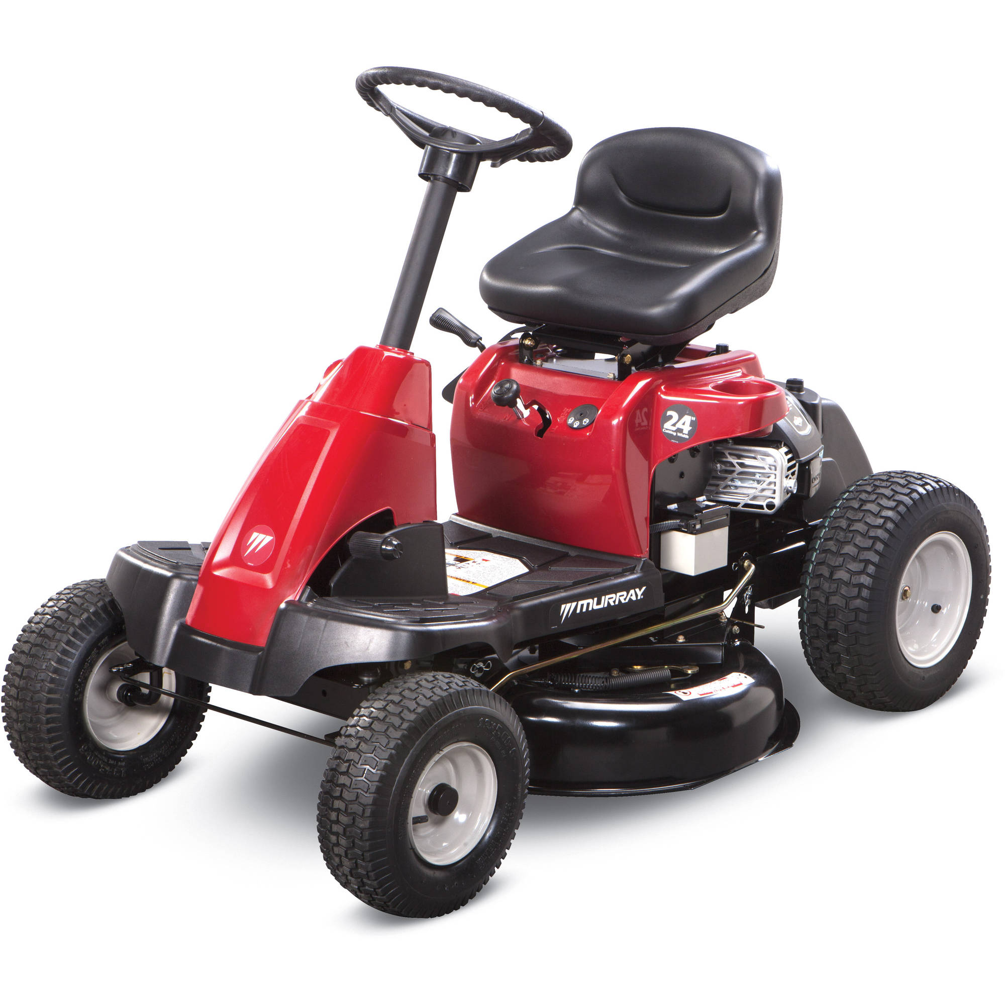 "Murray 24"" Rear Engine Riding Mower with Mulch Kit"