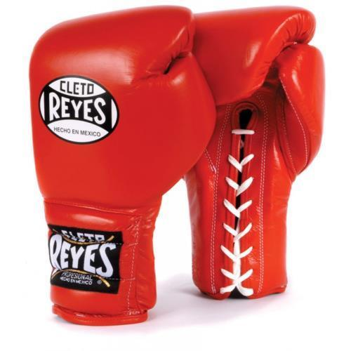 Reyes LACE TRAINING GLOVES Red Size: 16 oz