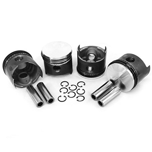 AA Performance Products VW 87MM Type 1 Piston Set 1641cc