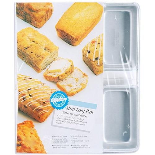 Wilton 6-Cavity Mini Loaf Pan 2105-9791