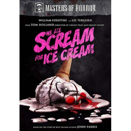 Masters of Horror: We All Scream for Ice Cream (DVD) - X Scream Cream