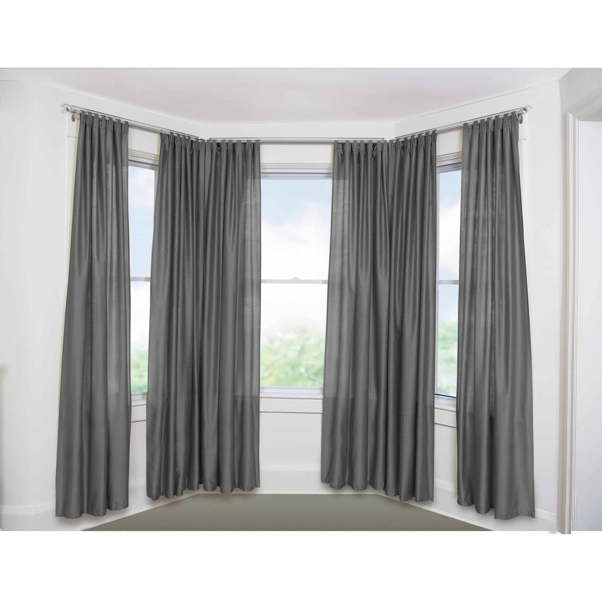 bow window curtain rods rooms bay windows curtain rods www galleryhip com the