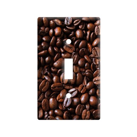 Coffee Beans Light Switch Plate Cover