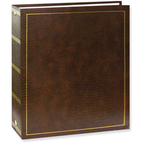 Pioneer LM-100 Magnetic 3-Ring Photo Album Brown