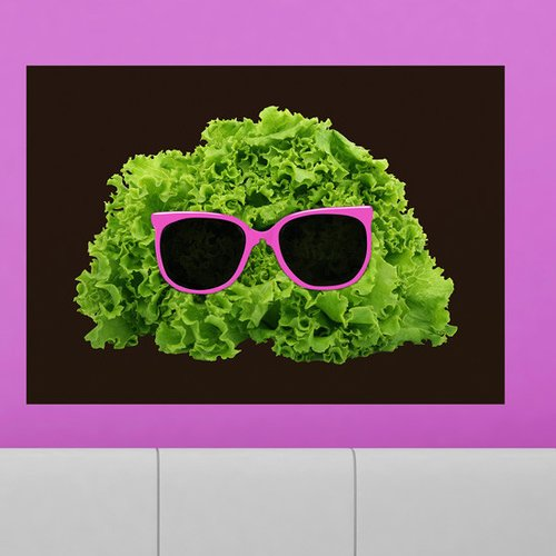 My Wonderful Walls Mr. Salad Wall Decal