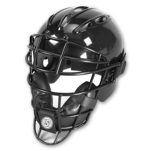 Schutt Vented Catchers Helmet/Mask-Color:Scarlet,Size:SML